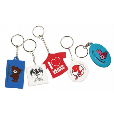 keyrings rubber